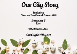 """Mark Your Calendar: The 2nd """"Our City Story"""" December 7, 2017"""