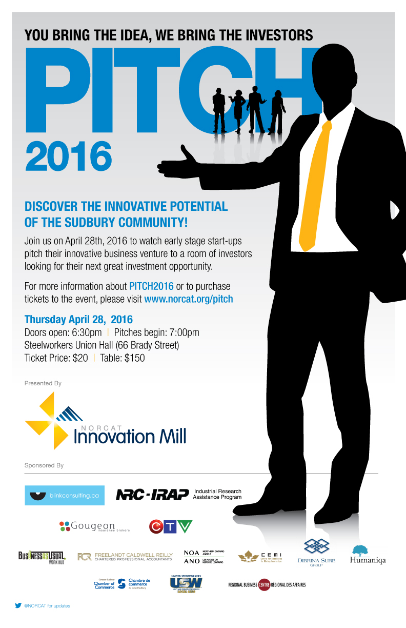NORCAT: Bringing Ideas to Life at PITCH 2016