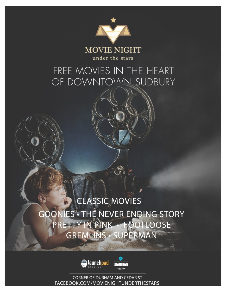 Movie Night Under the Stars is back for their 2016 season!