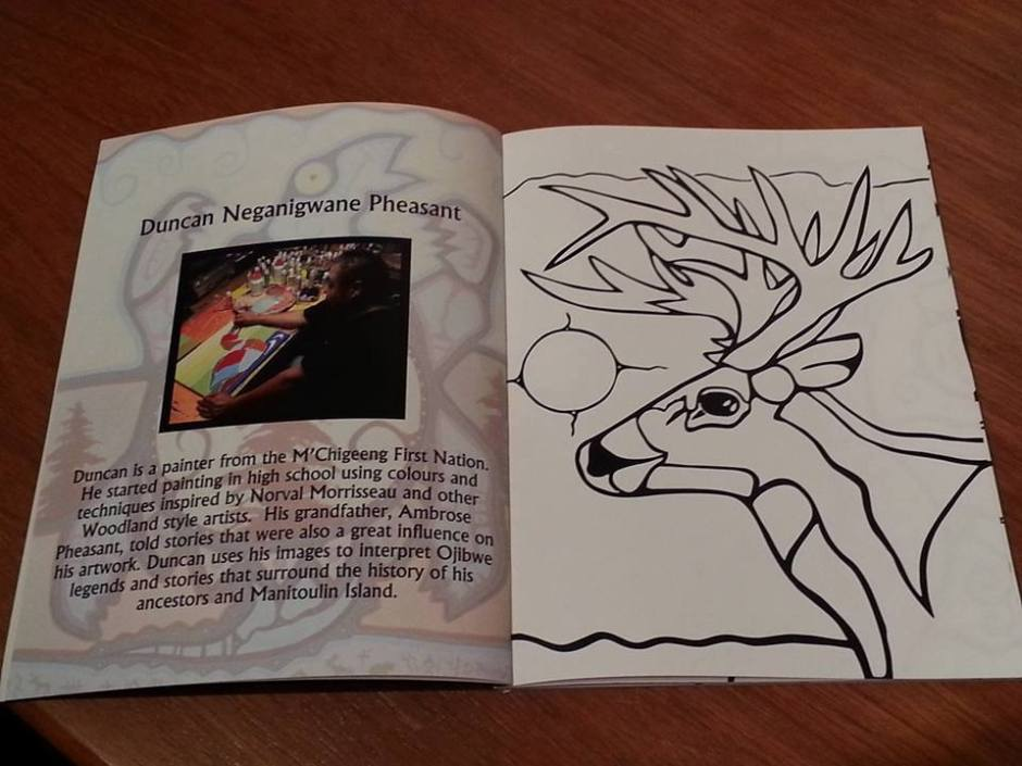 Manitoulin Colouring Book