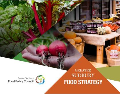Greater Sudbury has a new food strategy!
