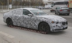 2016 BMW 7-series (spy photo)