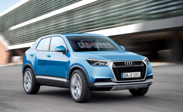 2016 Audi Q1 Rendered, Detailed: The Face of Future Qs—For Now