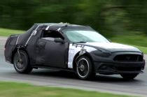 See How the Camouflaged 2015 Ford Mustang Hid its Face (W/Video)