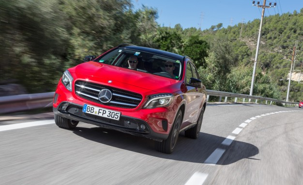2015 Mercedes-Benz GLA-class First Ride: We Sit Shotgun with Benz's Development Engineers