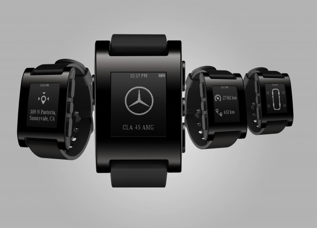 Mercedes and Pebble Technology Collaborate on Watch that Keeps Time, Connects to Your Benz