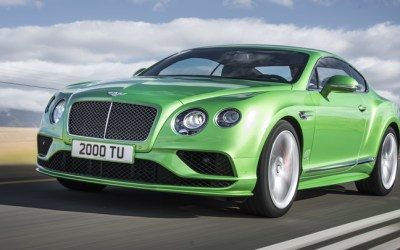 Bentley Updates the Continental Line in time for Geneva