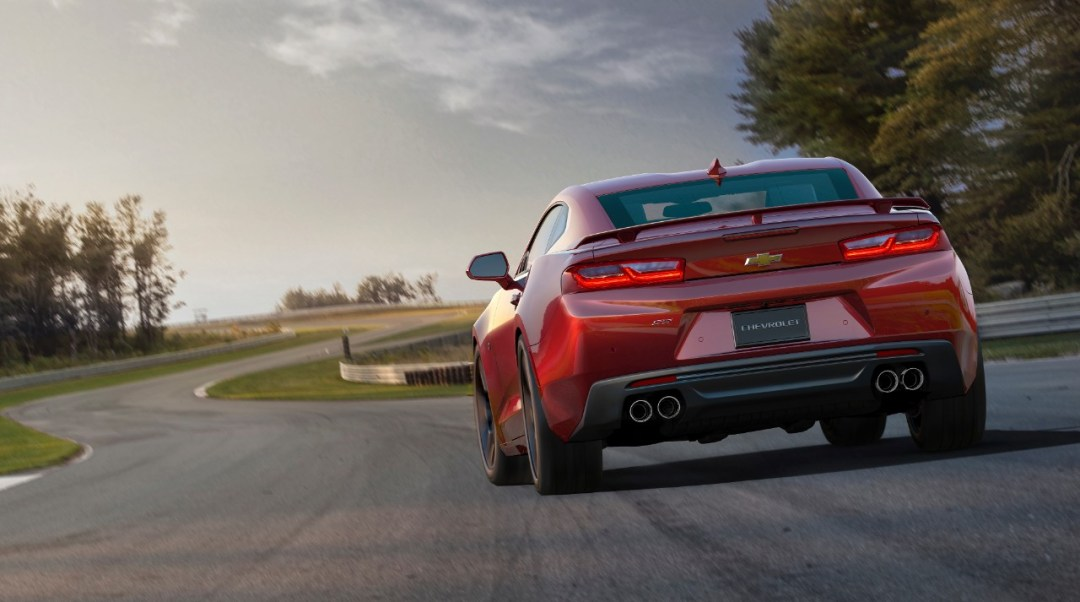 2016-Camaro-red-rear