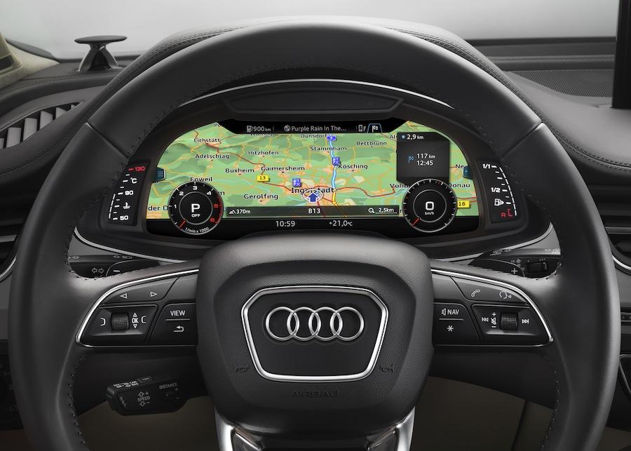 High-Res Nav Maps for Audi Q7