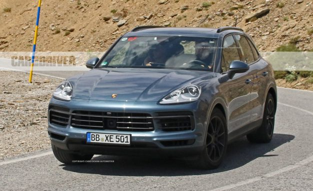 2019 Porsche Cayenne Spied Mostly Uncovered!