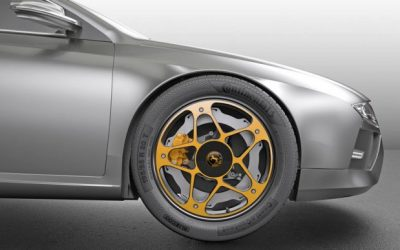 Inside Out: Continental Rethinks Disc Brakes (and Wheels) for Electric Cars