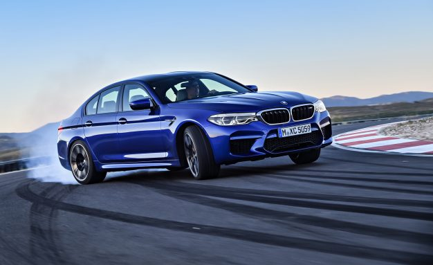 2018 BMW M5: Six Hundred Horses Drive All Four Wheels