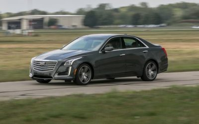 2017 Cadillac CTS 3.6L RWD Tested: In the Sweet Spot
