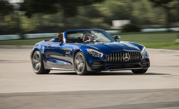 Tested! 2018 Mercedes-AMG GT C Roadster Is up to the Challenge of Challenging 911s