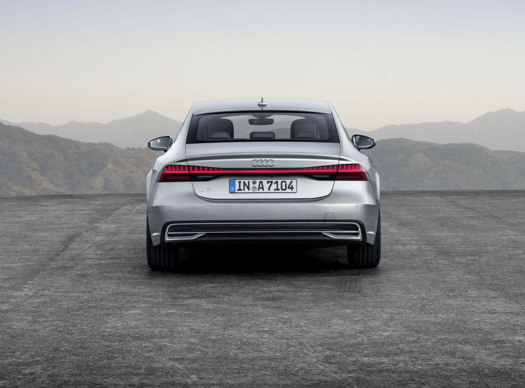 A7 Silver rear