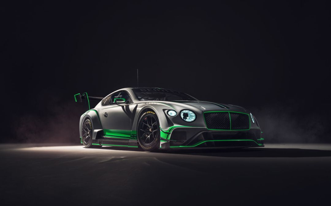 Bentley GT3 Racecar Revealed