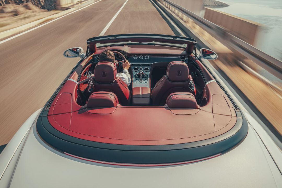 Bentley Continental GT Convertible 17