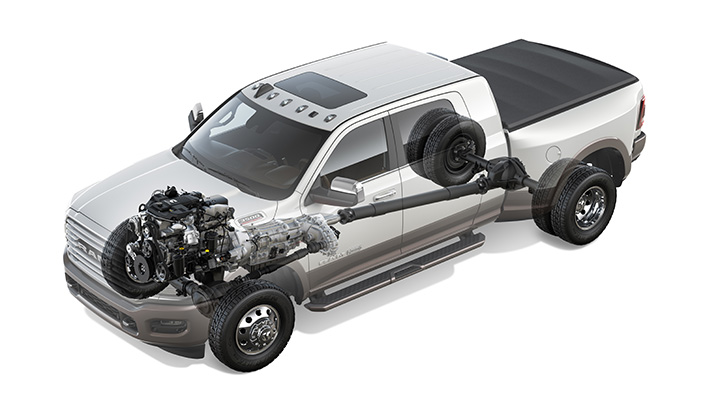 2019 Ram Heavy Duty 3500 Cummins powetrain