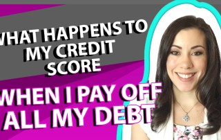 What Happens to My Credit Score When I Pay Off All My Debt?