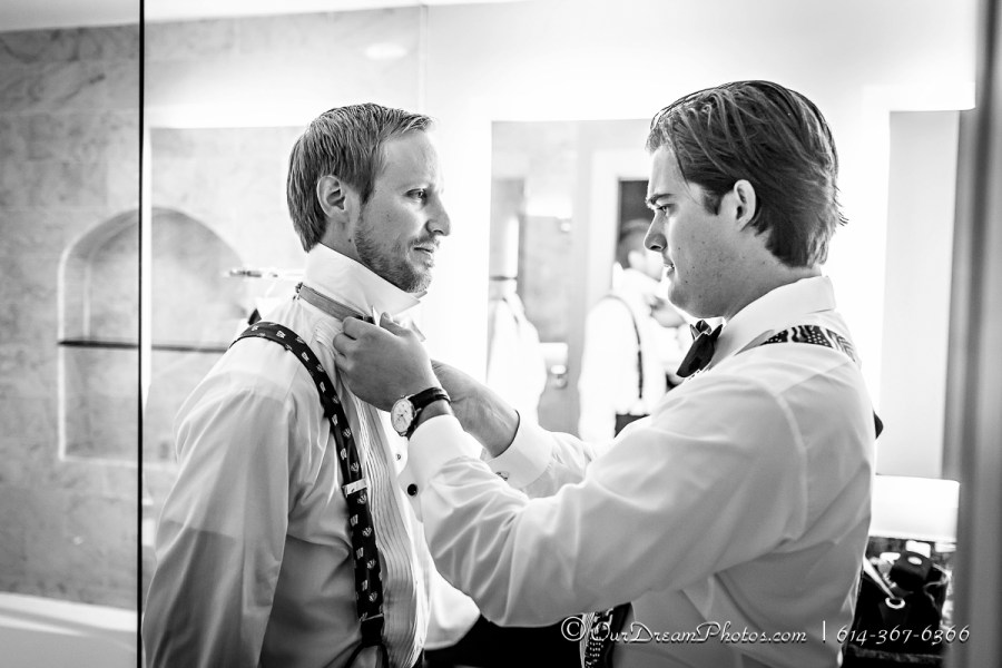 The wedding of Christa Nadler and Nick Orf photographed Saturday, October 3, 2015 at the Nadler Home in Worthington, Ohio. (© James D. DeCamp | http://OurDreamPhotos.com | 614-367-6366)