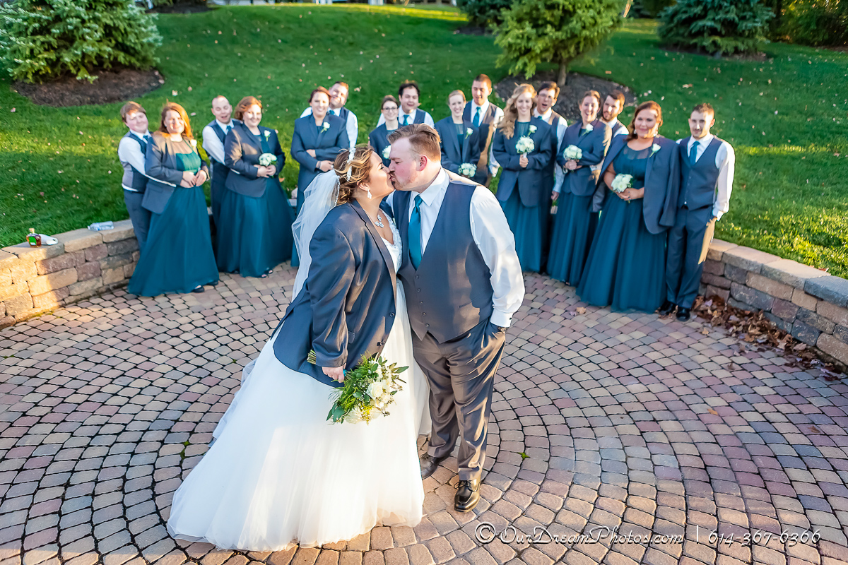 The wedding reception of Taylor Greene and Patrick Dillon photographed Saturday, November 7, 2015 at Wedgewood Golf & Country Club. (© James D. DeCamp | http://OurDreamPhotos.com | 614-367-6366)