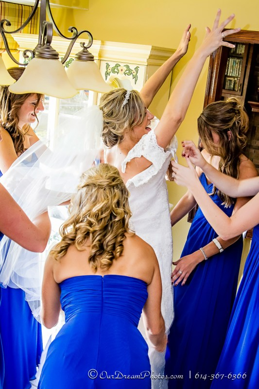 The wedding & reception of Tiffany Mustric & Jon Smiley photographed Saturday, September 20, 2014. (© James D. DeCamp   http://OurDreamPhotos.com   614-367-6366)