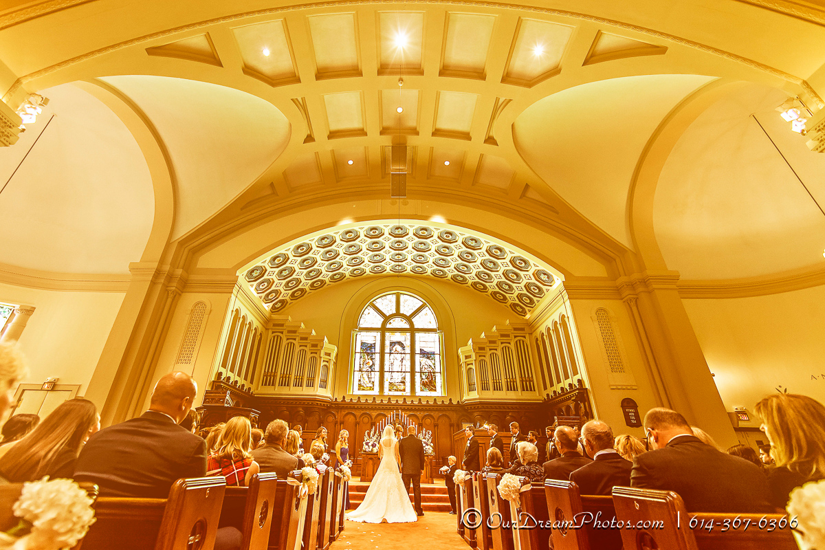 The wedding & reception of Tiffany Mustric & Jon Smiley photographed Saturday, September 20, 2014. (© James D. DeCamp | http://OurDreamPhotos.com | 614-367-6366)