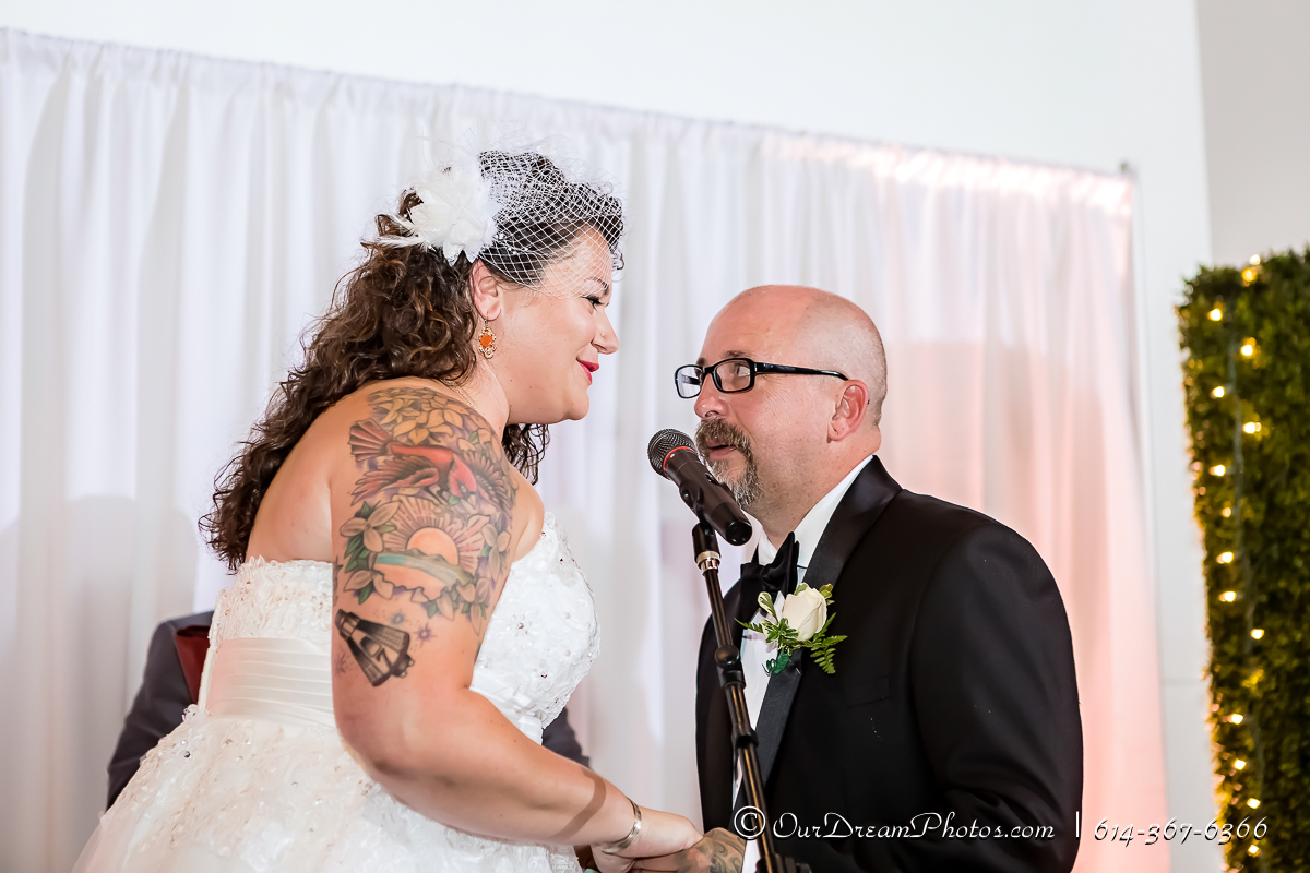 The wedding and reception of Stacia Kuceyeski and Tony Terrell photographed Saturday, June 17, 2017 at the Ohio History Center. (© James D. DeCamp | http://OurDreamPhotos.com | 614-367-6366)