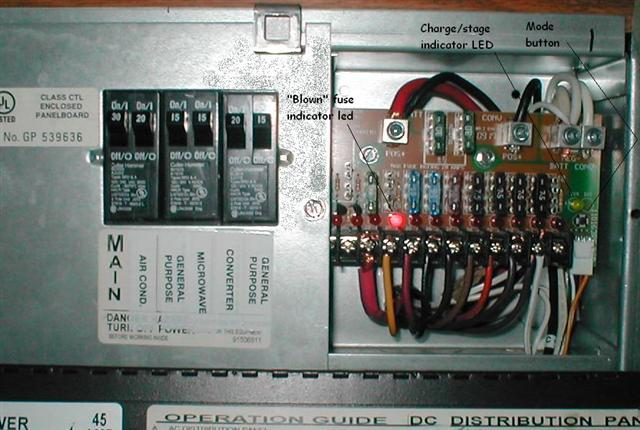 rv converter with fuse box  wiring diagram wavedesigna