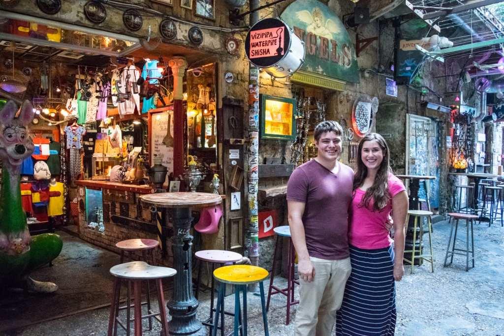 Prague or Budapest: Szimpla Ruin Bar