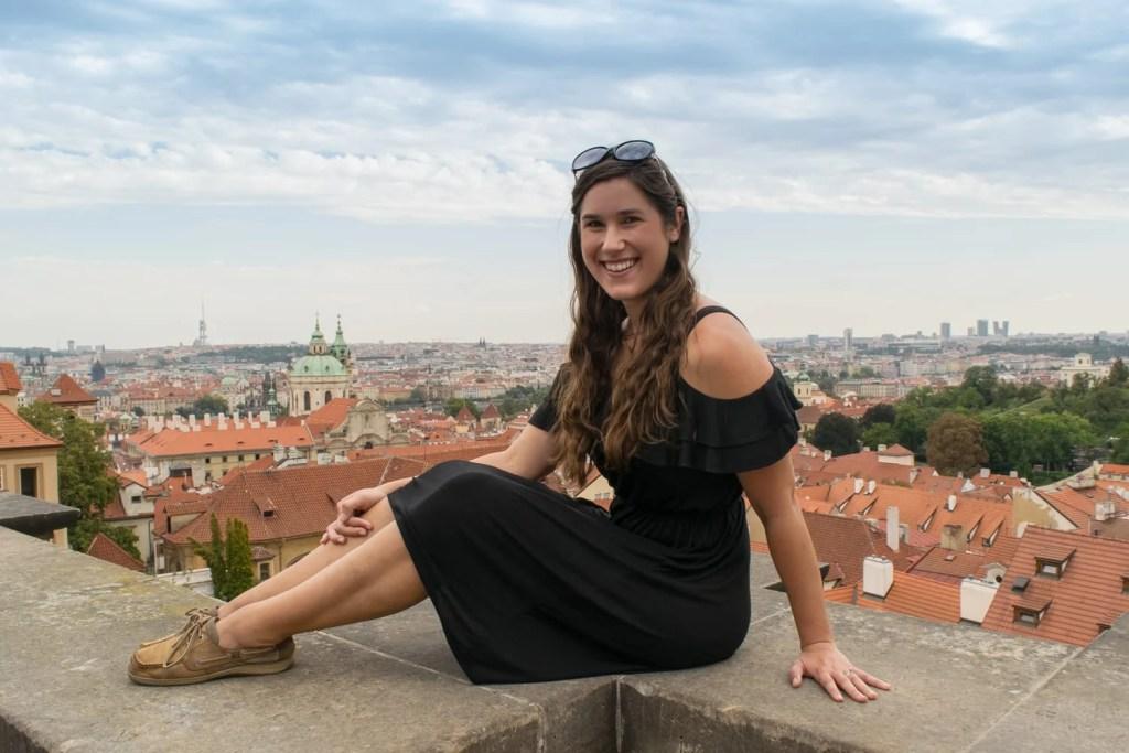 Best Viewpoints to Visit in Prague: Starbucks Prague Castle