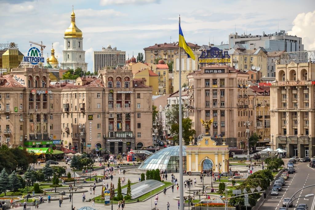 Affordable European Getaways -- Kiev, Ukraine