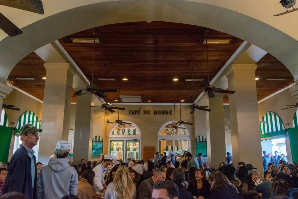 3 Days in New Orleans Itinerary: Cafe du Monde
