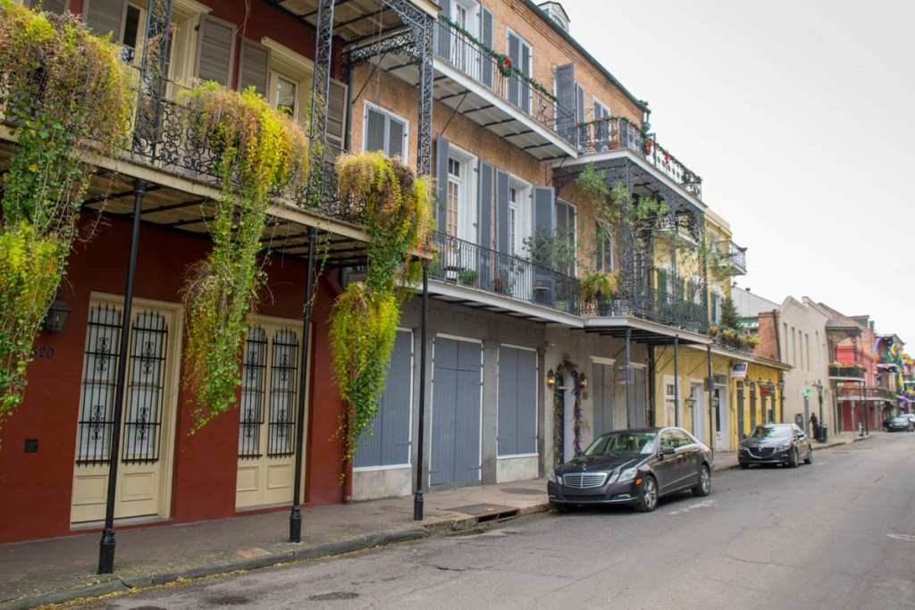 Best Books About New Orleans: Street in French Quarter