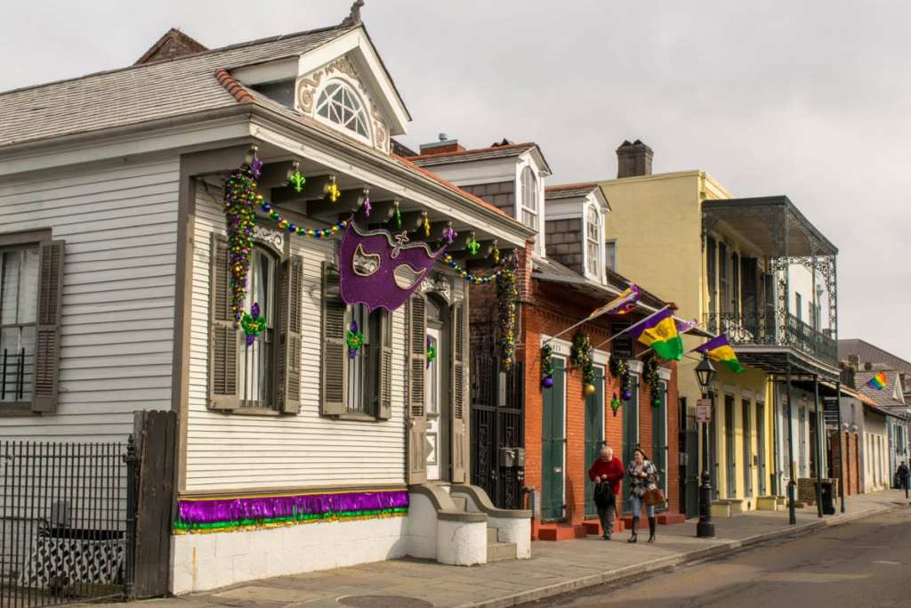 3 Days in New Orleans Itinerary: French Quarter Houses