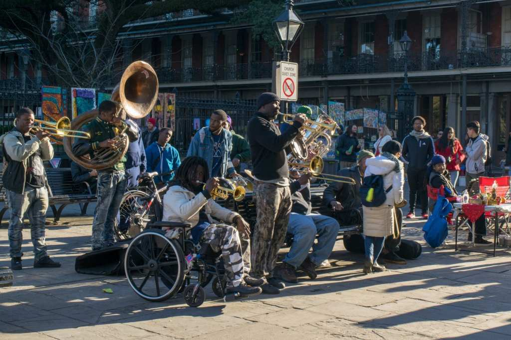 3 Days in New Orleans Itinerary: Outdoor Jazz Band
