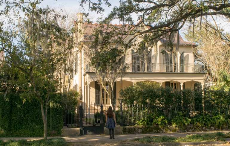 3 Days in New Orleans Itinerary: Garden District Home with Girl