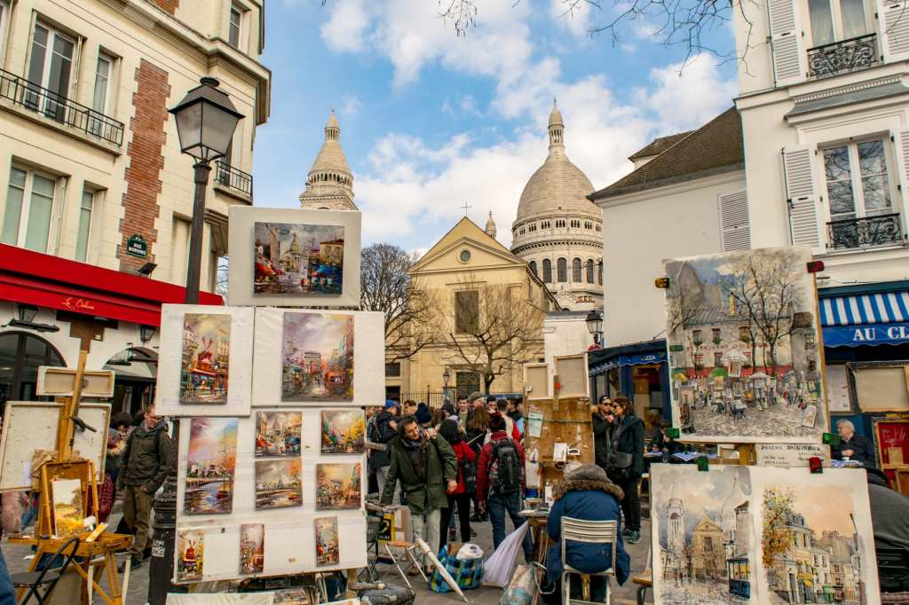 Second Time in Paris: Montmartre & Sacre Coeur