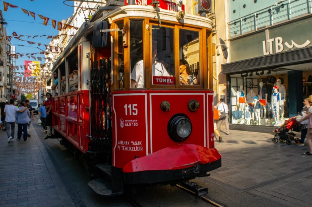 2 Day Istanbul Itinerary: Istiklal Tram