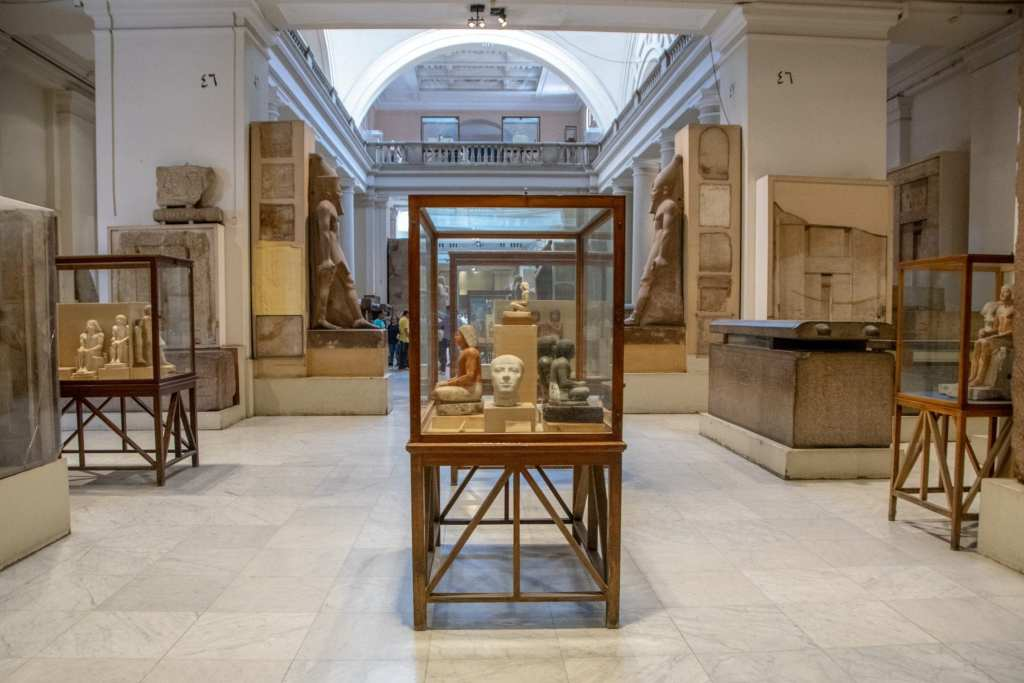 Cairo Layover: Egyptian Museum Interior