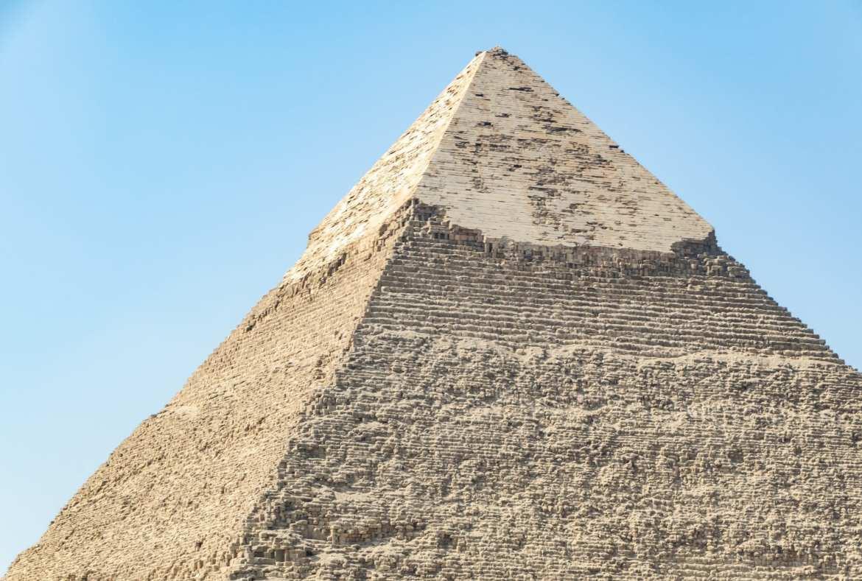 Layover in Cairo: Pyramid in Giza Close Up