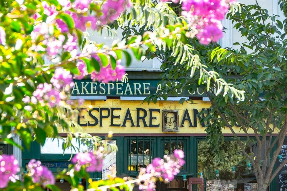 Paris in August: Shakespeare & Company