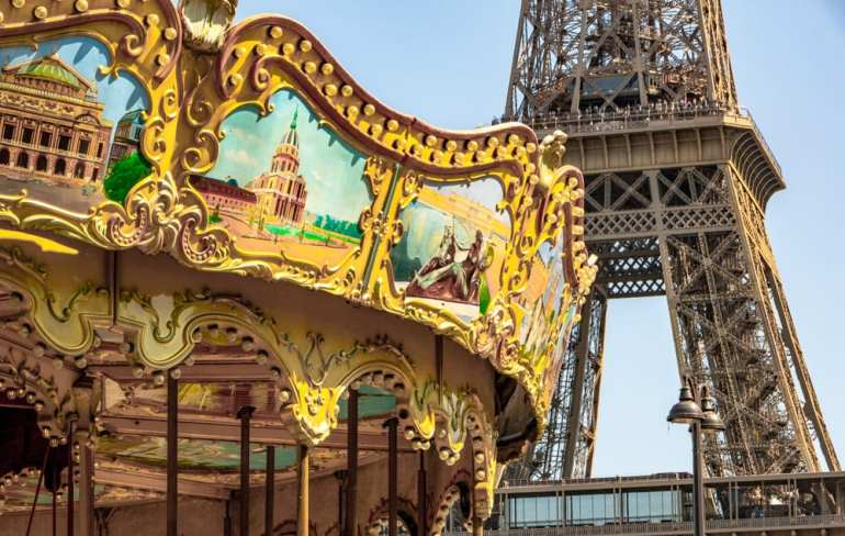 One Day in Paris: Eiffel Tower with Carousel