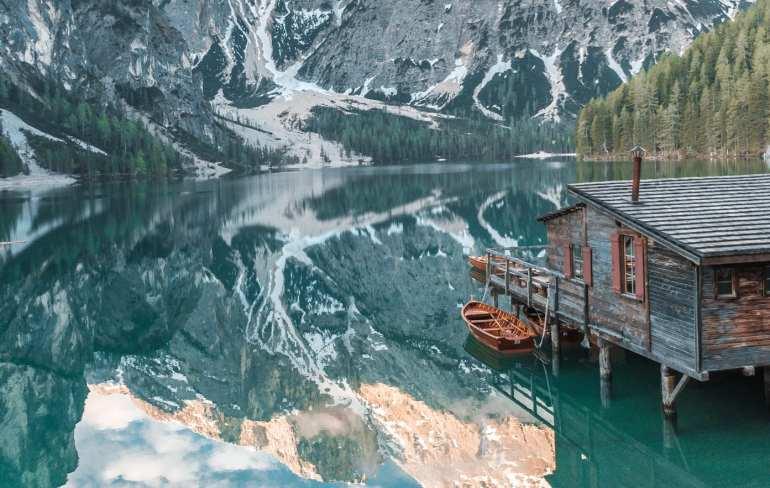 Most Beautiful Lakes in Italy: Lago di Braies