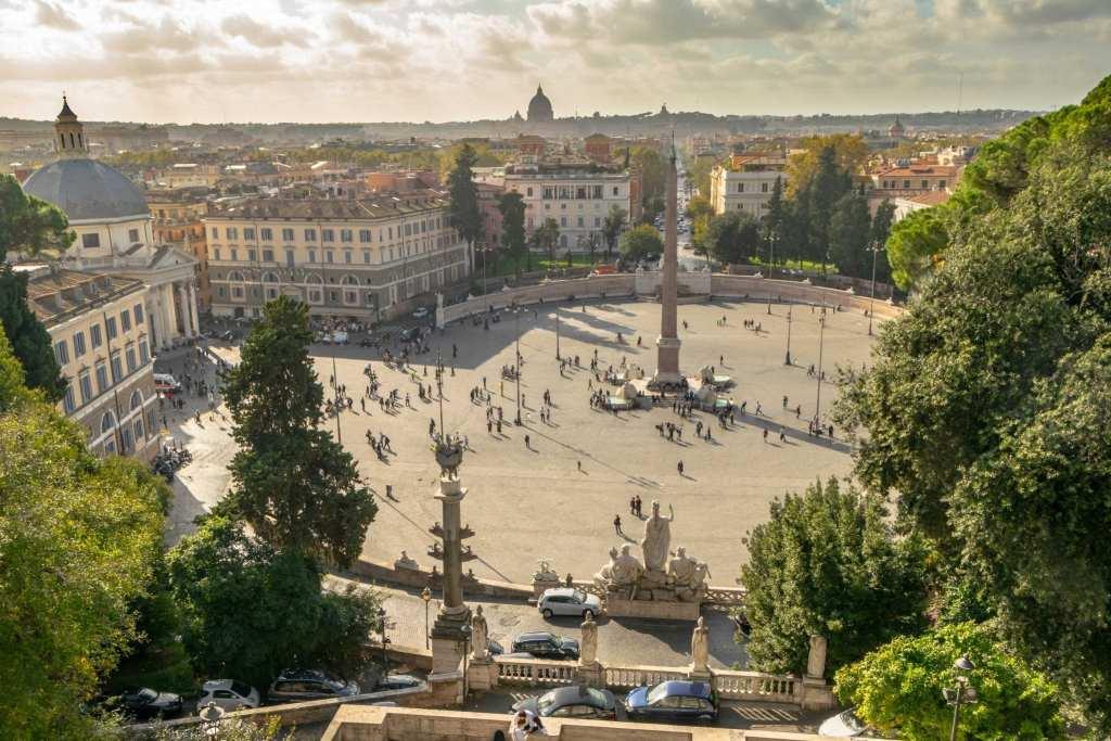 4 Days in Rome Itinerary: Piazza del Popolo