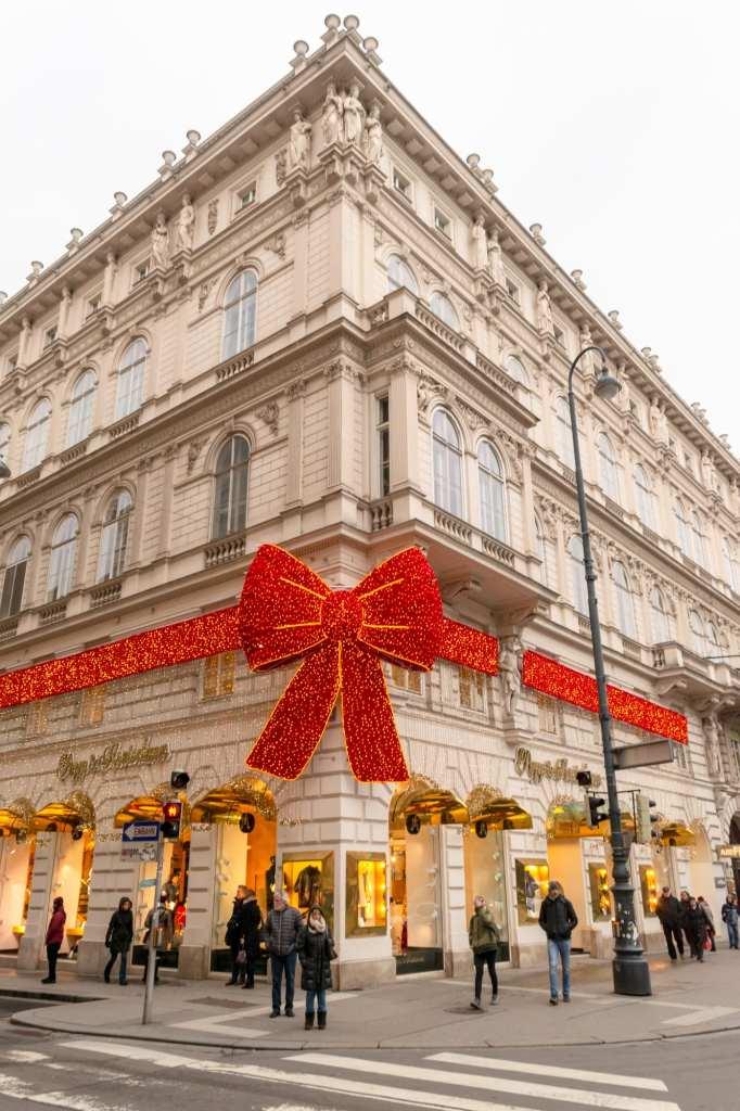 Austria Christmas Market Trip: Department Store in Vienna