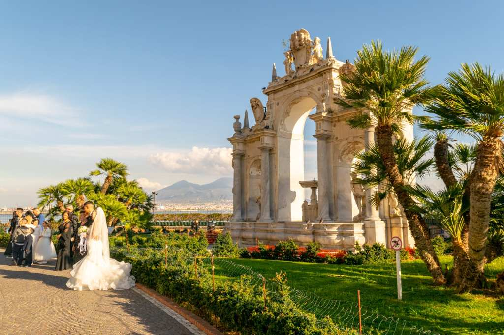 Where to Propose in Italy: Photo of Wedding in Naples