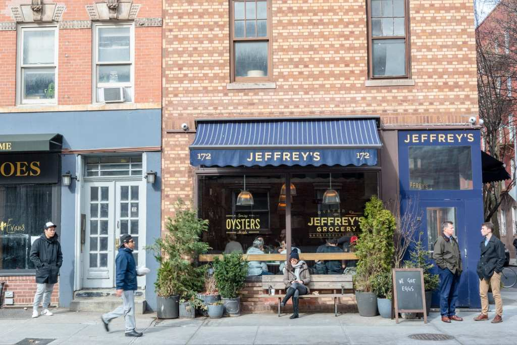 4 Day New York Itinerary: Restaurant in West Village