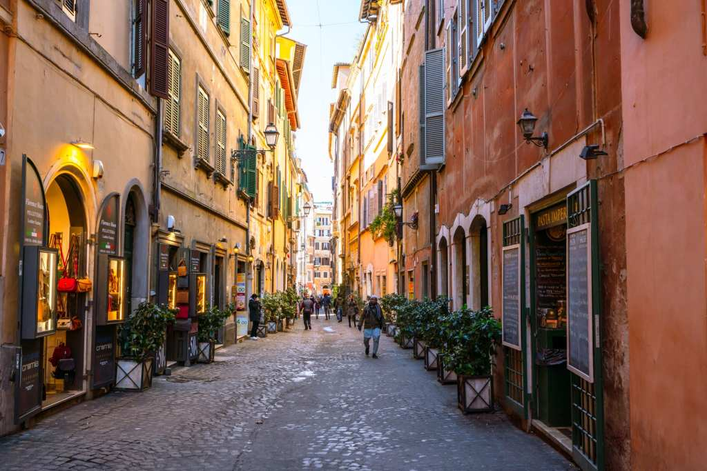 2 Days in Rome Itinerary: Street Scene in Centro Storico
