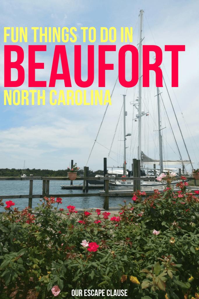 Fun Things to Do in Beaufort, North Carolina #beaufort #northcarolina #nc #beaufortnc #crystalcoast #southernouterbanks
